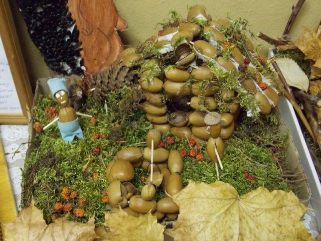 Выставка творческих работ в детском саду
